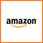 Amazon Logo Orange Border