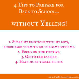 4 tips for Back to School
