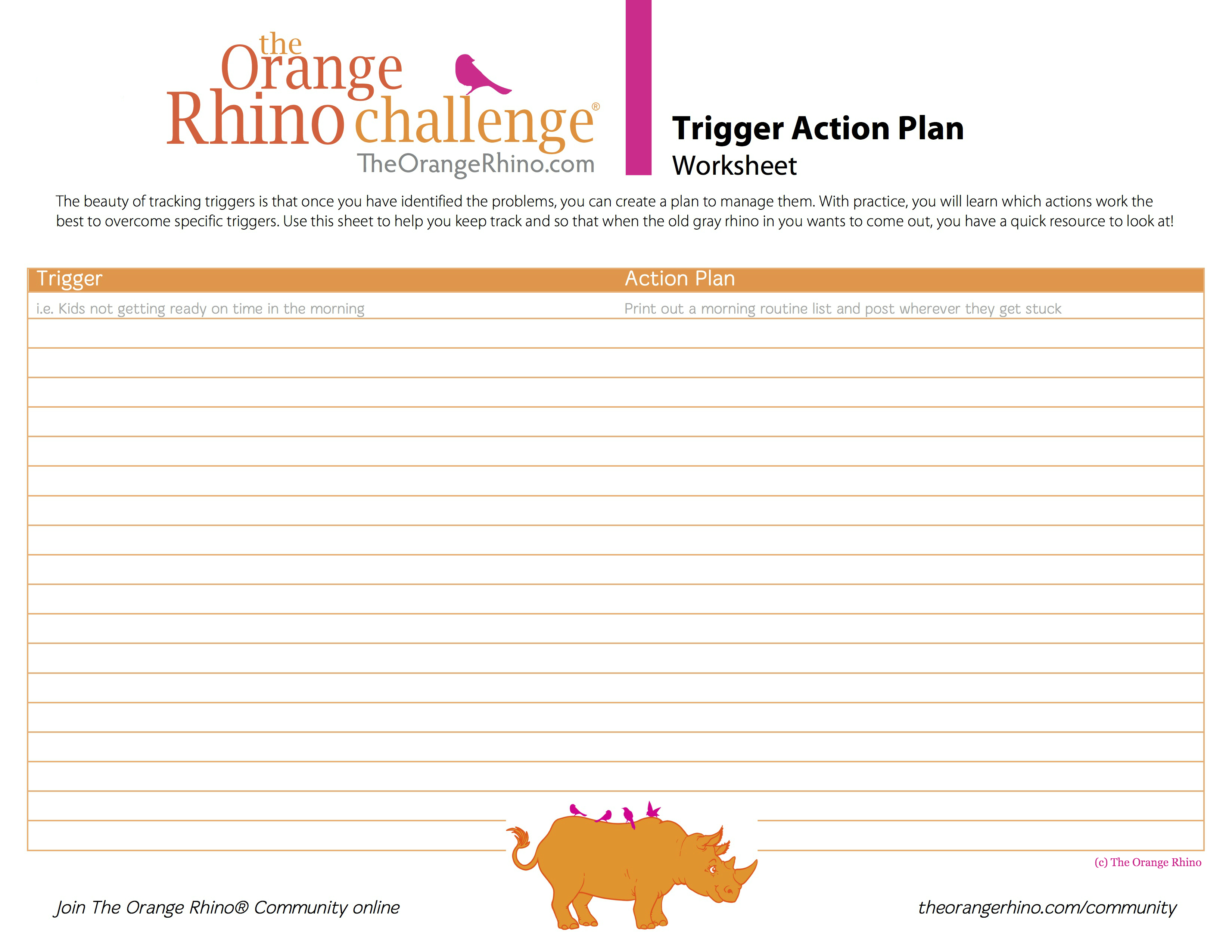 Orange Rhino Trigger Action Plan jpg