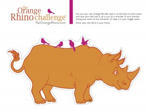 The Orange Rhino Sign to Cut Out jpg